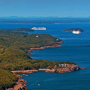 Bar Harbor Cruise Ship